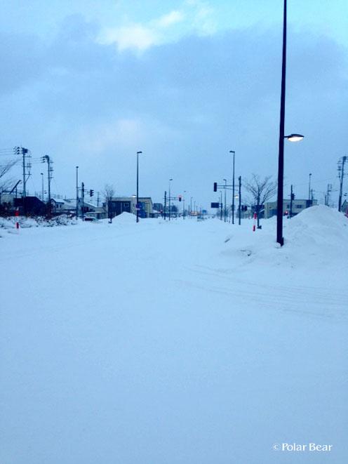青森 雪景色