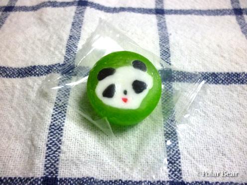 パンダの金太郎飴