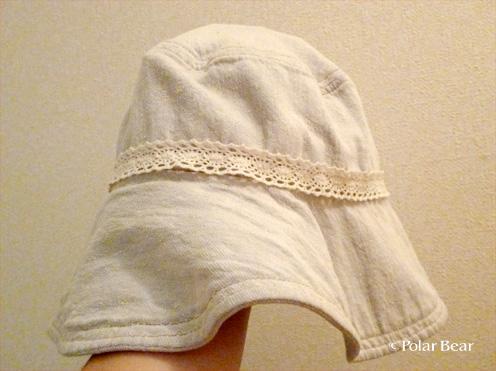 帽子のリメイク