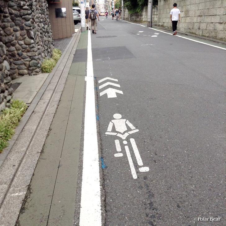 石神井公園 自転車ナビライン