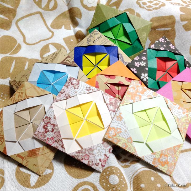 折り紙 コースター