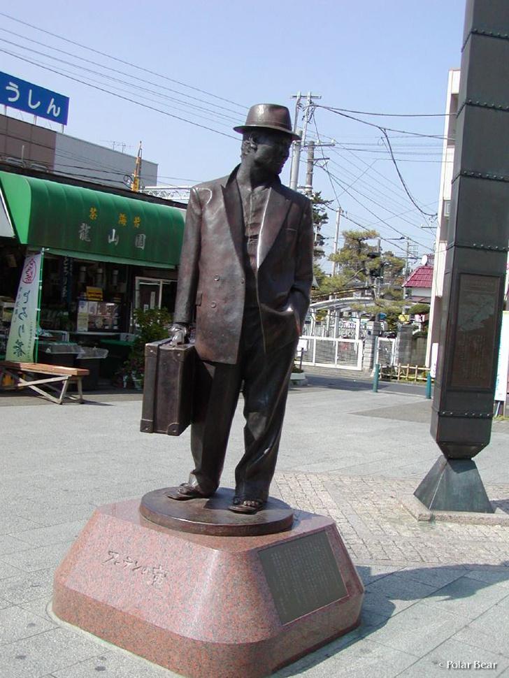 柴又駅 寅さん