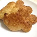 ミッキー型のクッキーを焼きました