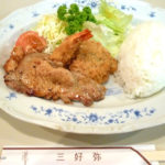 三好弥さん ジャンボセット定食 池尻大橋