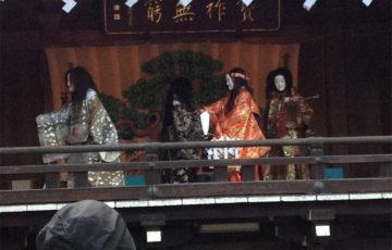 大国魂神社さんの「すももまつり」 お神楽