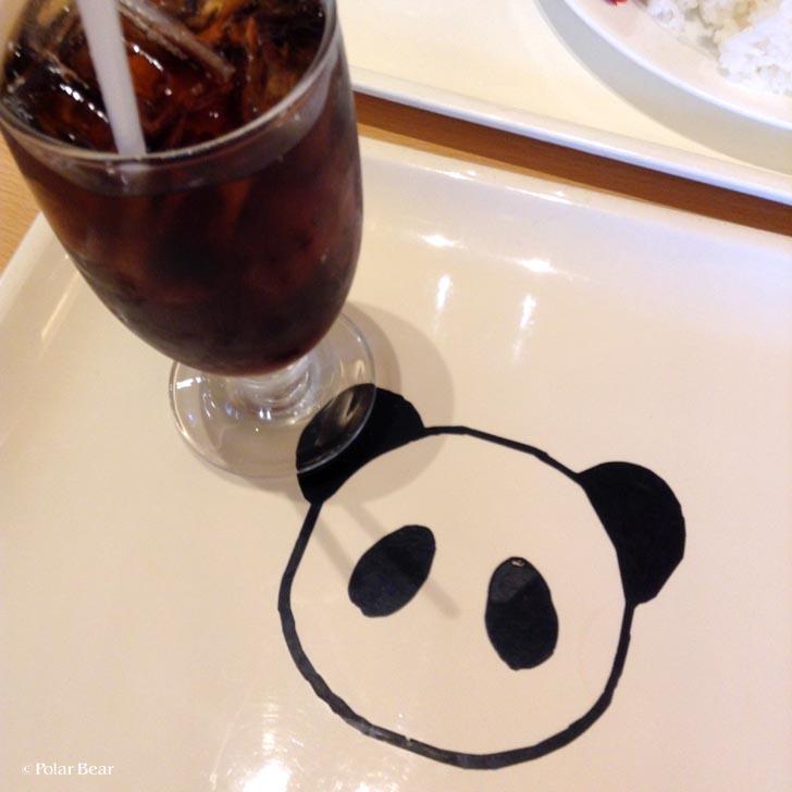 上野グリーンサロン カレーdeパンダ