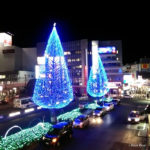 所沢駅前のイルミネーション