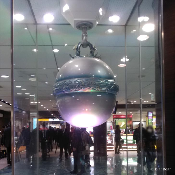 東京駅 銀の鈴 ポーラベア