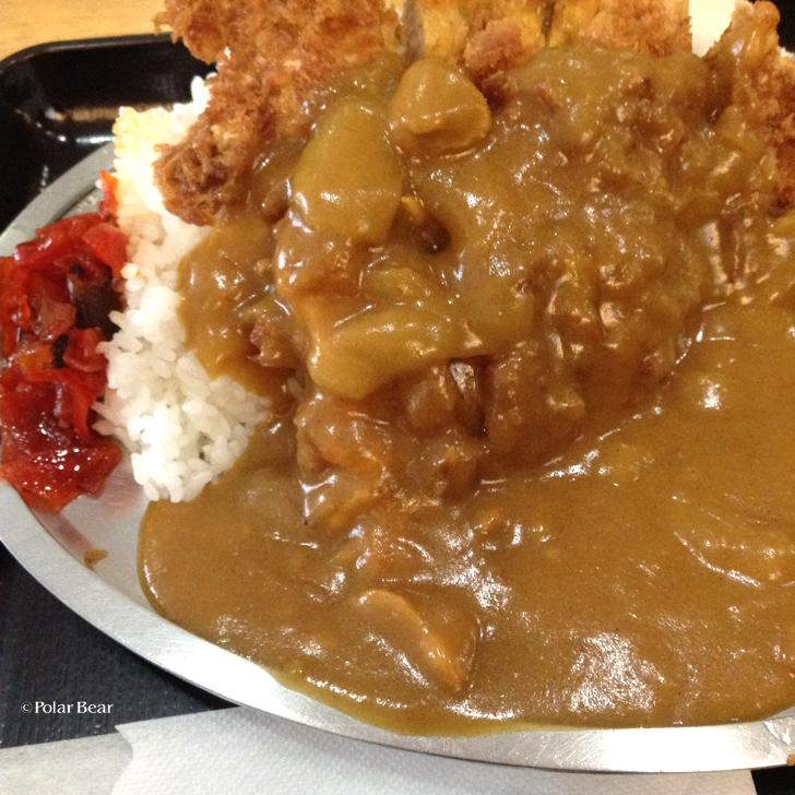 ポーラベア 早稲田 キッチンオトボケ カツカレー