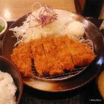 松乃屋さん 朝定食 ポーラベア 得朝ロースかつ定食
