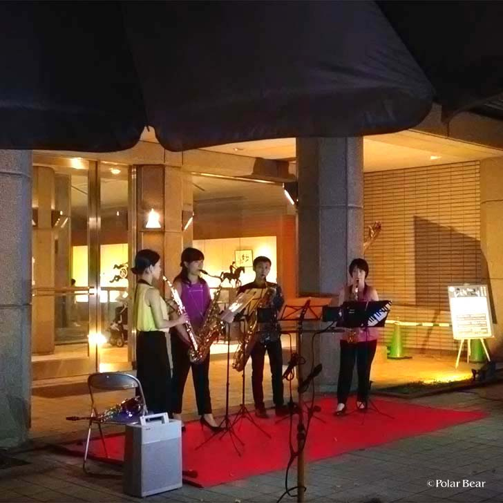 吉祥寺 井の頭自然文化園 秋の夜長の自然文化園 ポーラベア 彫刻園ミニコンサート
