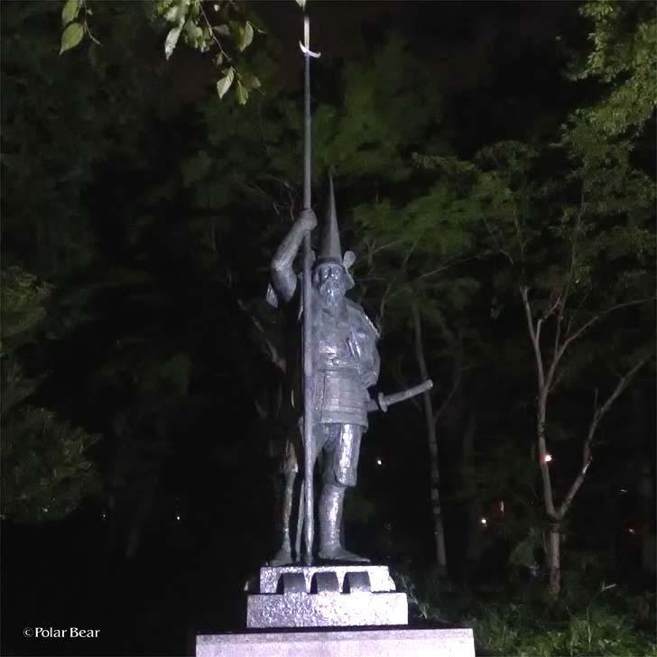 吉祥寺 井の頭自然文化園 秋の夜長の自然文化園 ポーラベア 北村西望先生 彫刻 加糖清正像