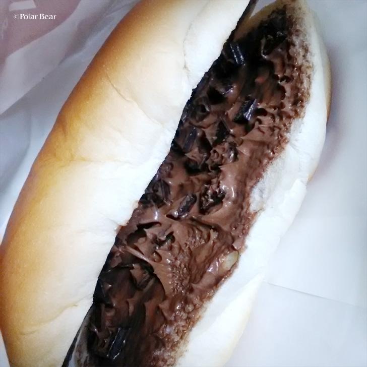 パンの田島さん コッペパン 生チョコクリーム チョコチップ ポーラベア