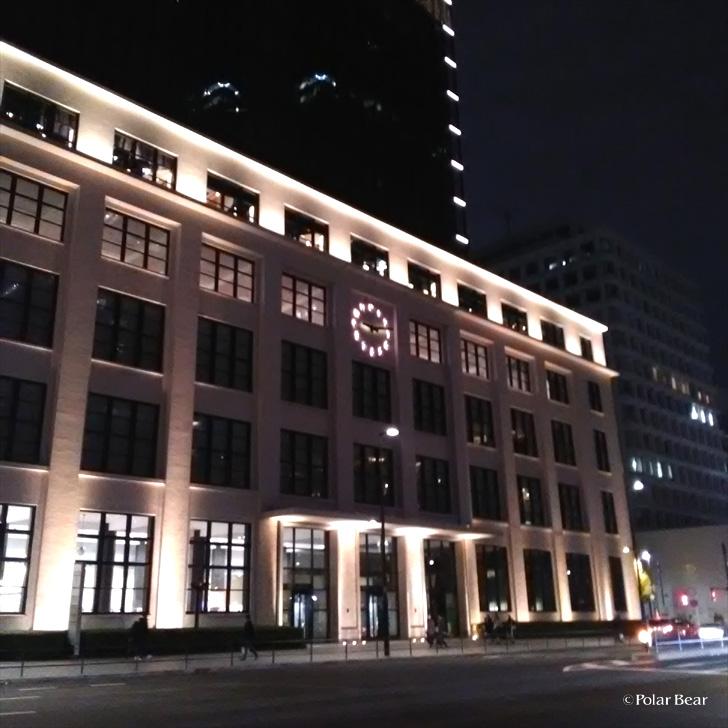 東京駅 KITTE 東京中央郵便局 ポーラベア