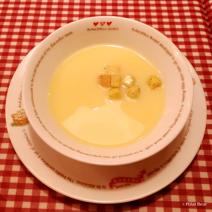 rakeru ラケル オムレツ スープ ポーラベア