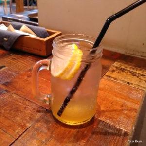 中野 パンケーキ J.S. PANCAKE CAFE 中野セントラルパーク店 ポーラベア オリジナルレモネード