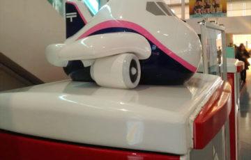 羽田空港 国際線ターミナル 郵便ポスト かわいい 飛行機 ポーラベア