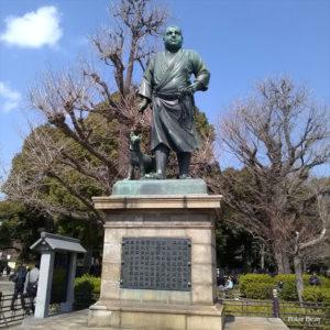 上野公園 桜 開花 お花見 西郷隆盛像 西郷さん ポーラベア