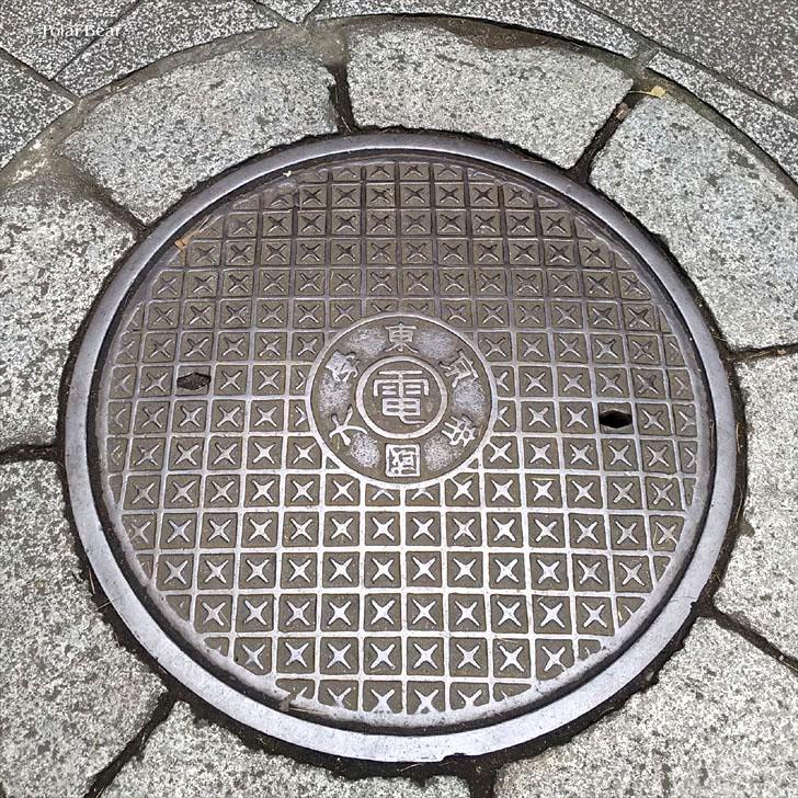 東京大学 東大 マンホール ポーラベア