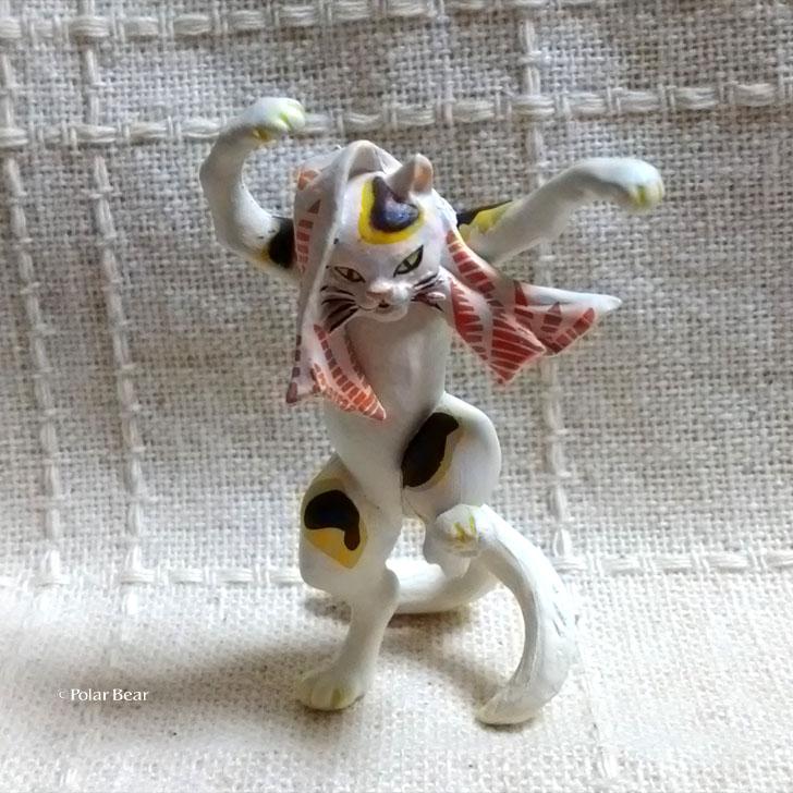 歌川国芳 猫 ネコ ポーラベア 踊る猫又