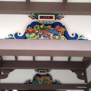 湯島天満宮 湯島天神 蟇股 かえるまた 獅子 龍 東京都 文京区 ポーラベア