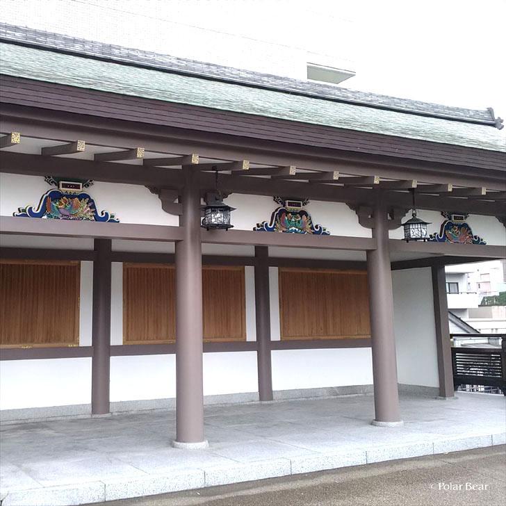 湯島天満宮 湯島天神 蟇股 かえるまた 東京都 文京区 ポーラベア