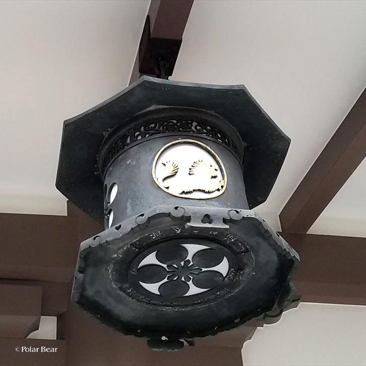 湯島天満宮 湯島天神 吊り灯籠 東京都 文京区 ポーラベア