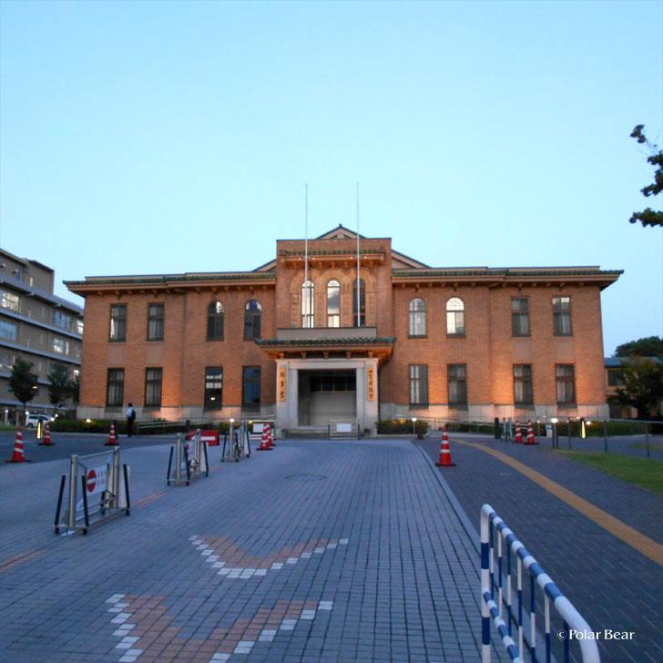 JR甲府駅 山梨県議会議事堂 ポーラベア