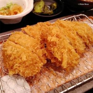 東京駅 地下街 黒かつ亭 とんかつ おいしい 脂身 ポーラベア