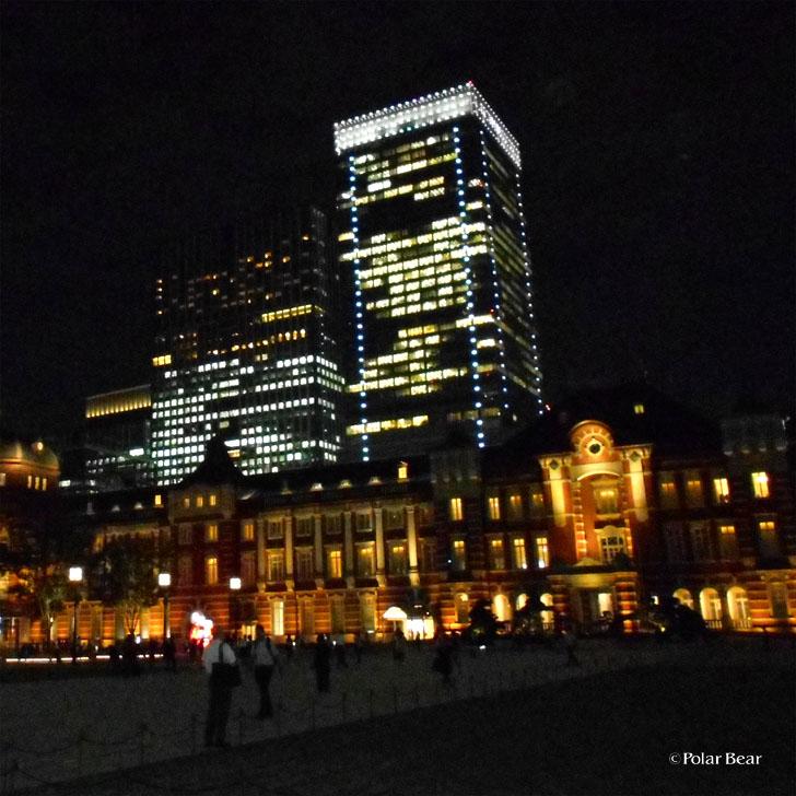 東京駅 ポーラベア