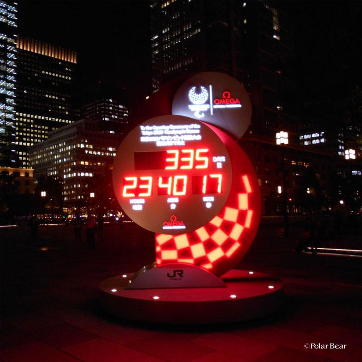 東京駅 2020年 オリンピックパラリンピックモニュメント ポーラベア