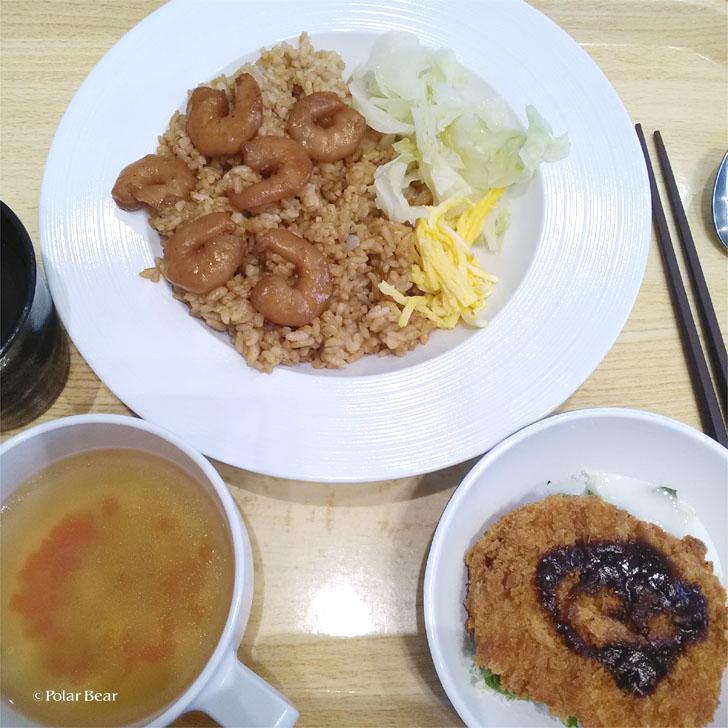 東京都庁 食堂 ランチ ポーラベア