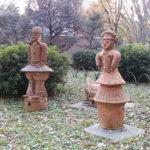 日比谷公園 埴輪 はにわ 東京 宮崎 ポーラベア