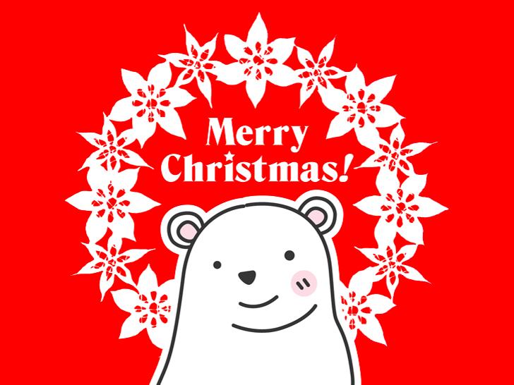 MerryChristmas メリークリスマス ポーラベア