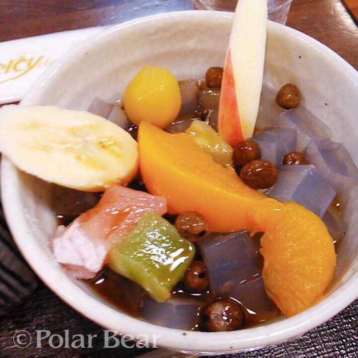 株式会社ポーラベア みつ豆 フルーツいっぱい