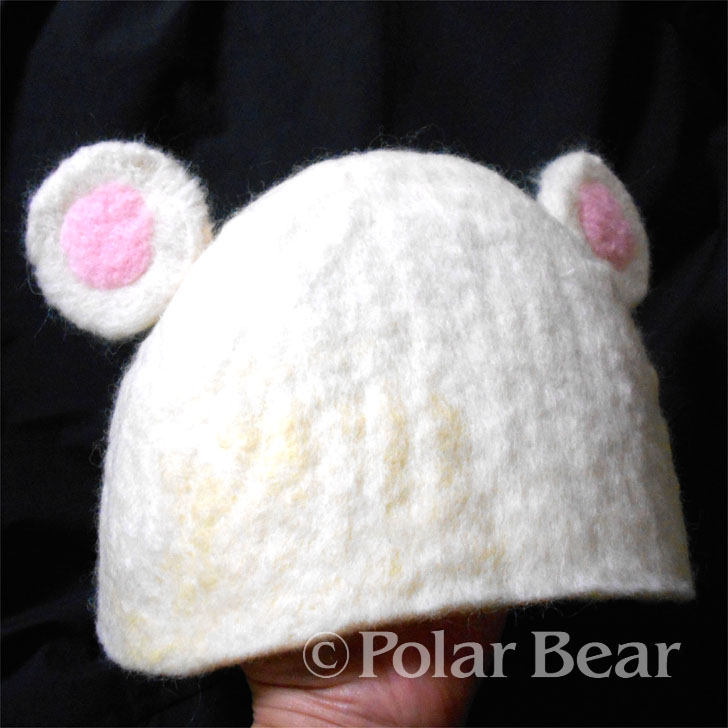 ポーラベア サウナハット saunahat 羊毛フェルト ハンドメイド 株式会社ポーラベア