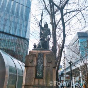 ポーラベア 株式会社ポーラベア 有楽町 銀座 北村西望作品 銅像彫刻 燈臺 とうだい