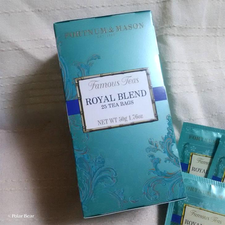 フォートナム&メイソン 紅茶 ロイヤルブレンド ポーラベア